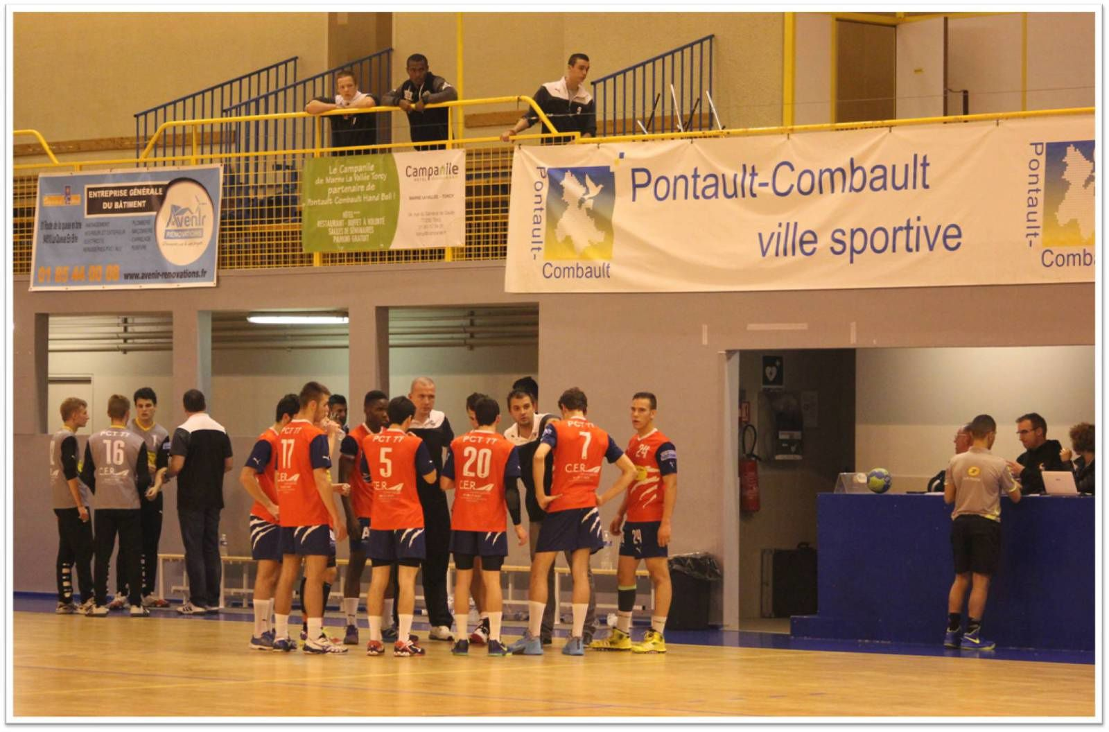 ENTENTE PCT 77 vs MAINVILLIERS/CHARTRES HB (CdF -18M) 22.11.2014