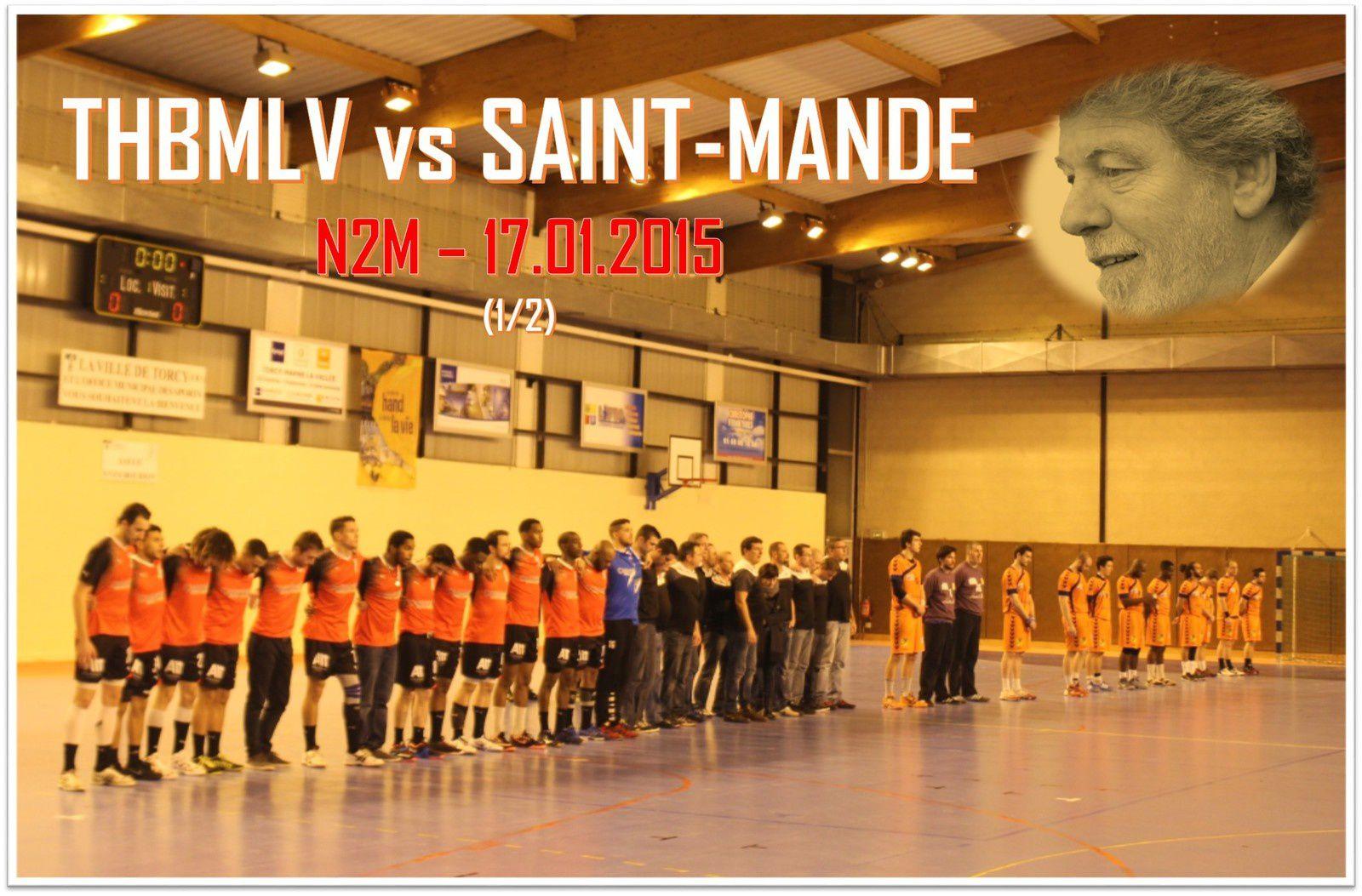 THBMLV vs SAINT-MANDE (N2M) 17.01.2015 (1/2)