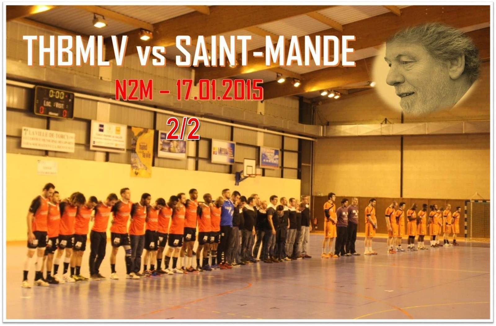 THBMLV vs SAINT-MANDE (N2M) 17.01.2015 (2/2)
