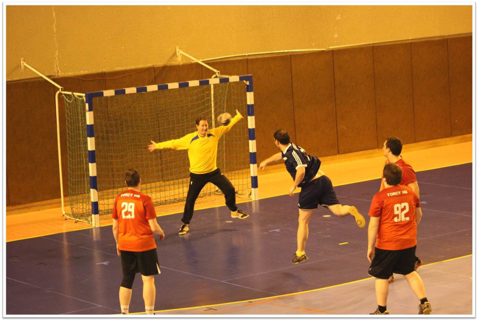 THBMLV 4 vs PROVINS HB (2ème Div.77) 07.03.2015