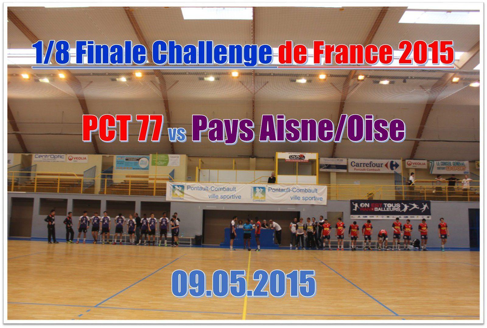 Tour Final CdF 2015 - Entente PAO vs PCT 77 (09.05.2015) 1/2
