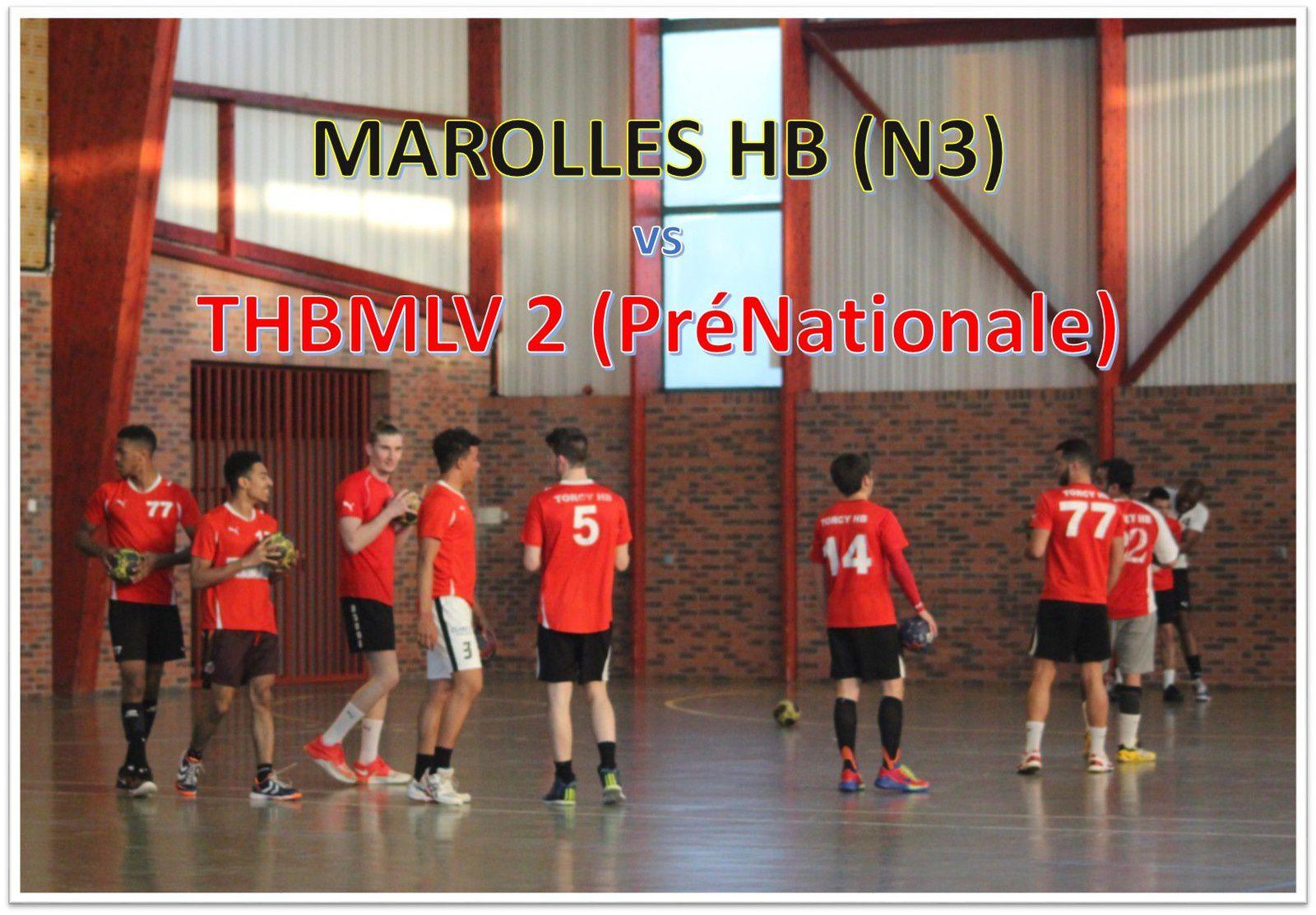 MAROLLES-EN-BRIE vs THBMLV 2 (Match d'entraînement) 02.06.2015