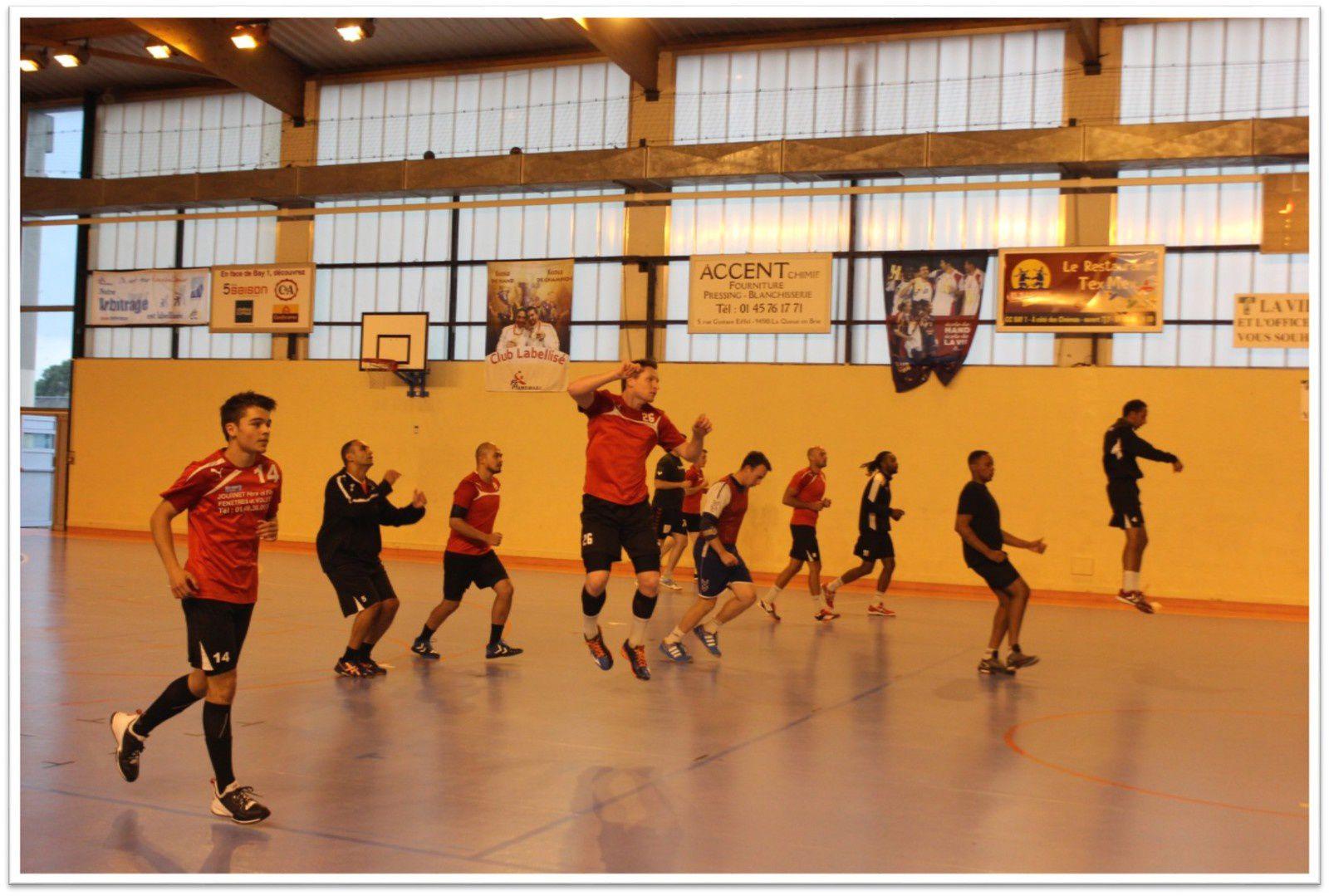 THBMLV 3 vs ROSNY-SOUS-BOIS (Prépa Séniors - 05.09.2015)