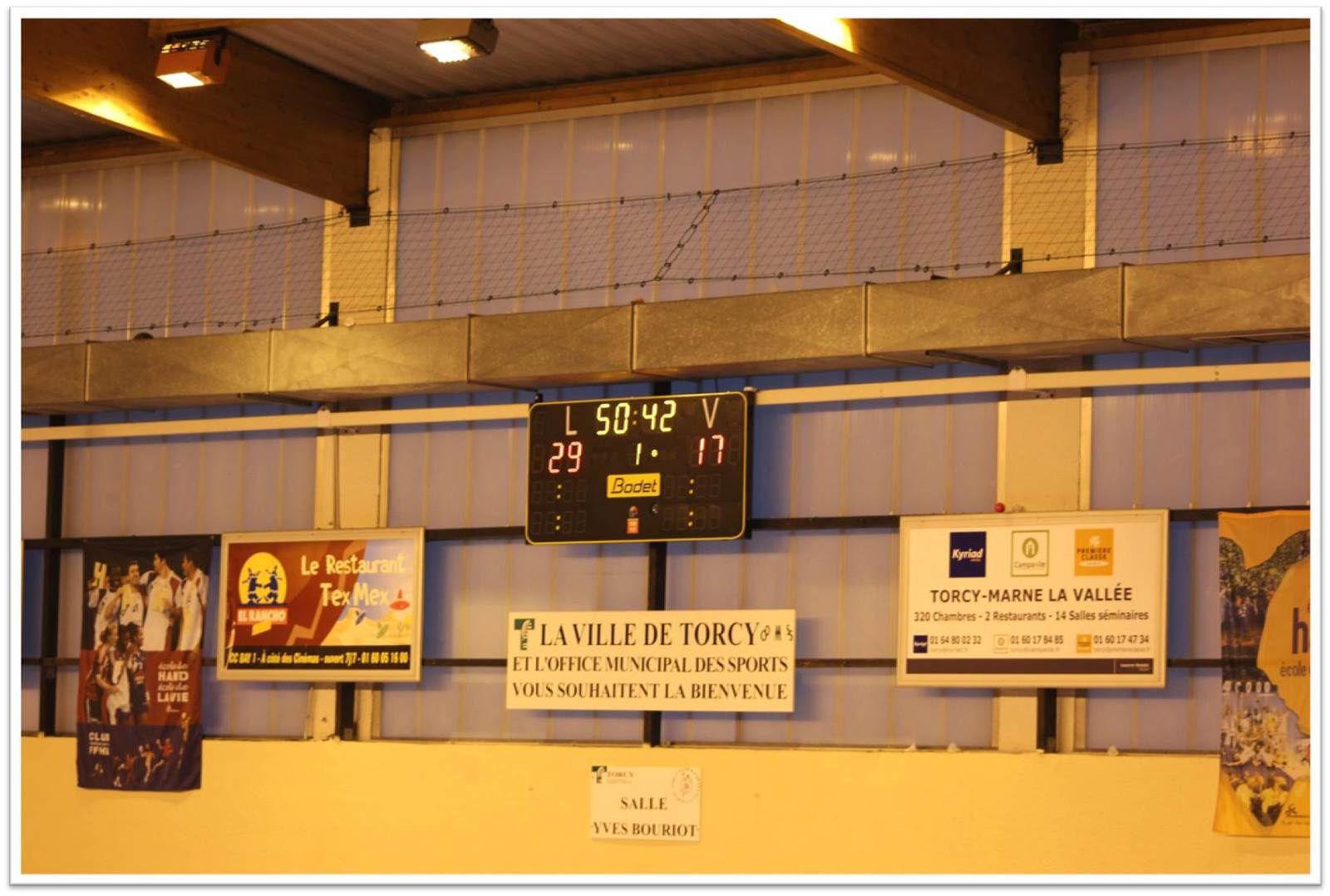 THBMLV 2 vs VILLEPARISIS (Prépa Séniors - 10.09.2015)
