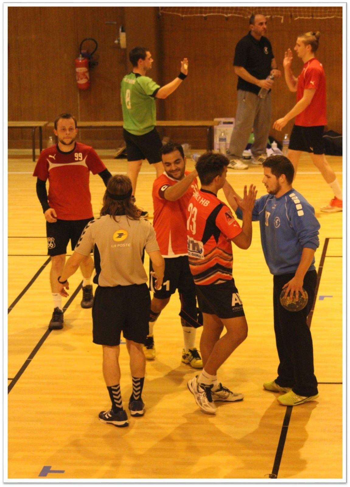 HBC LA THEROUANNE vs THBMLV 2 (Pré-Nationale) 19.09.2015