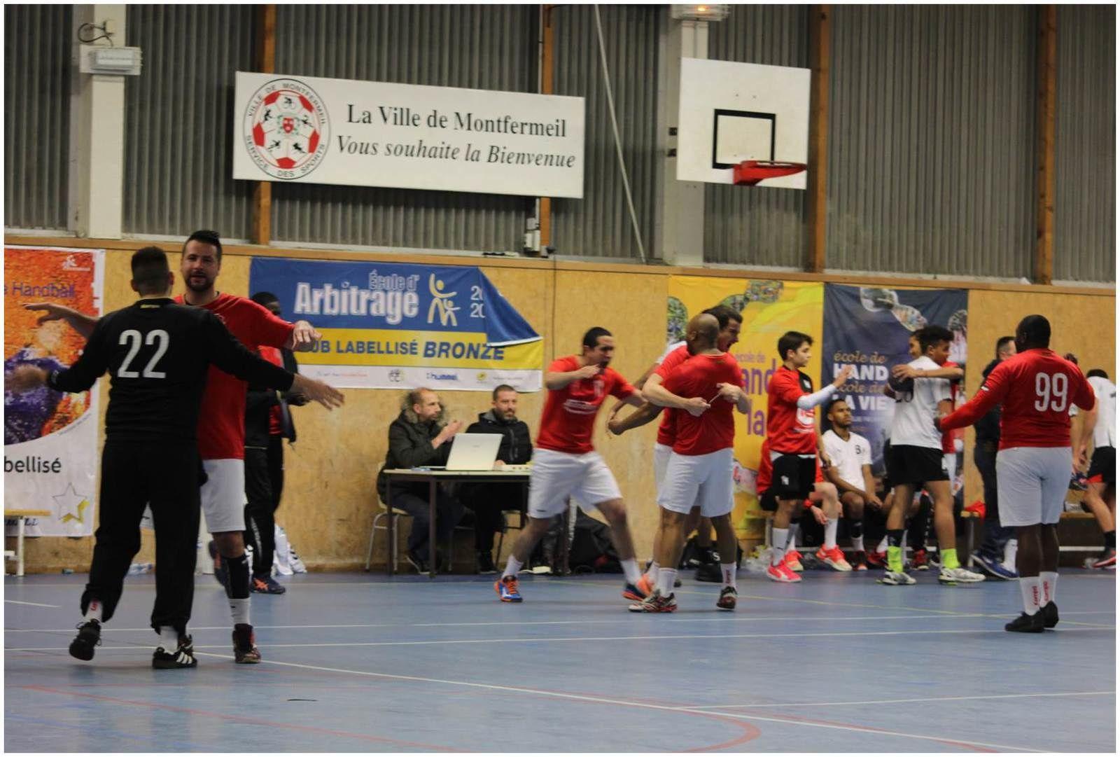 MONTFERMEIL vs THBMLV 2 (Pré-Nationale) 12.12.2015