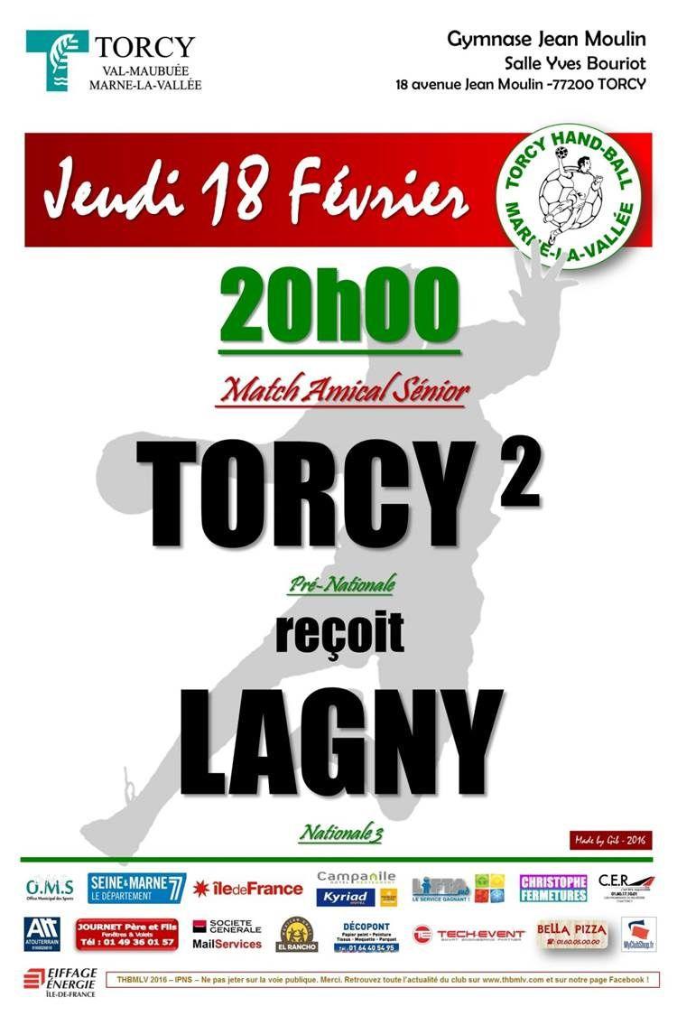 THBMLV 2 vs LAGNY (Prépa Séniors - 18.02.2016)