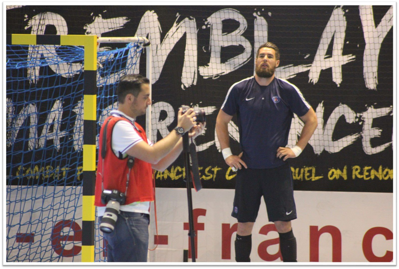 TREMBLAY vs PARIS (LNH) 07.05.2016 (1/2)
