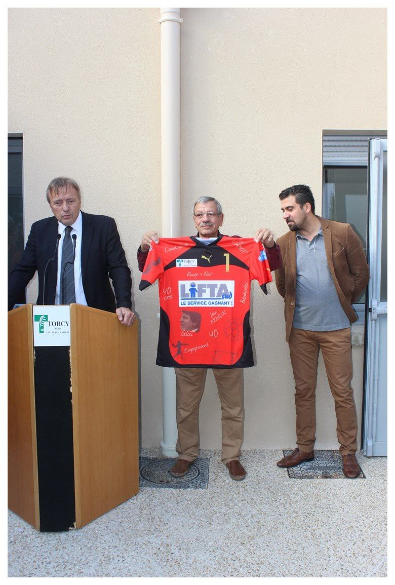 Inauguration Salle Gilles Letocq (Torcy - 01.10.2016)