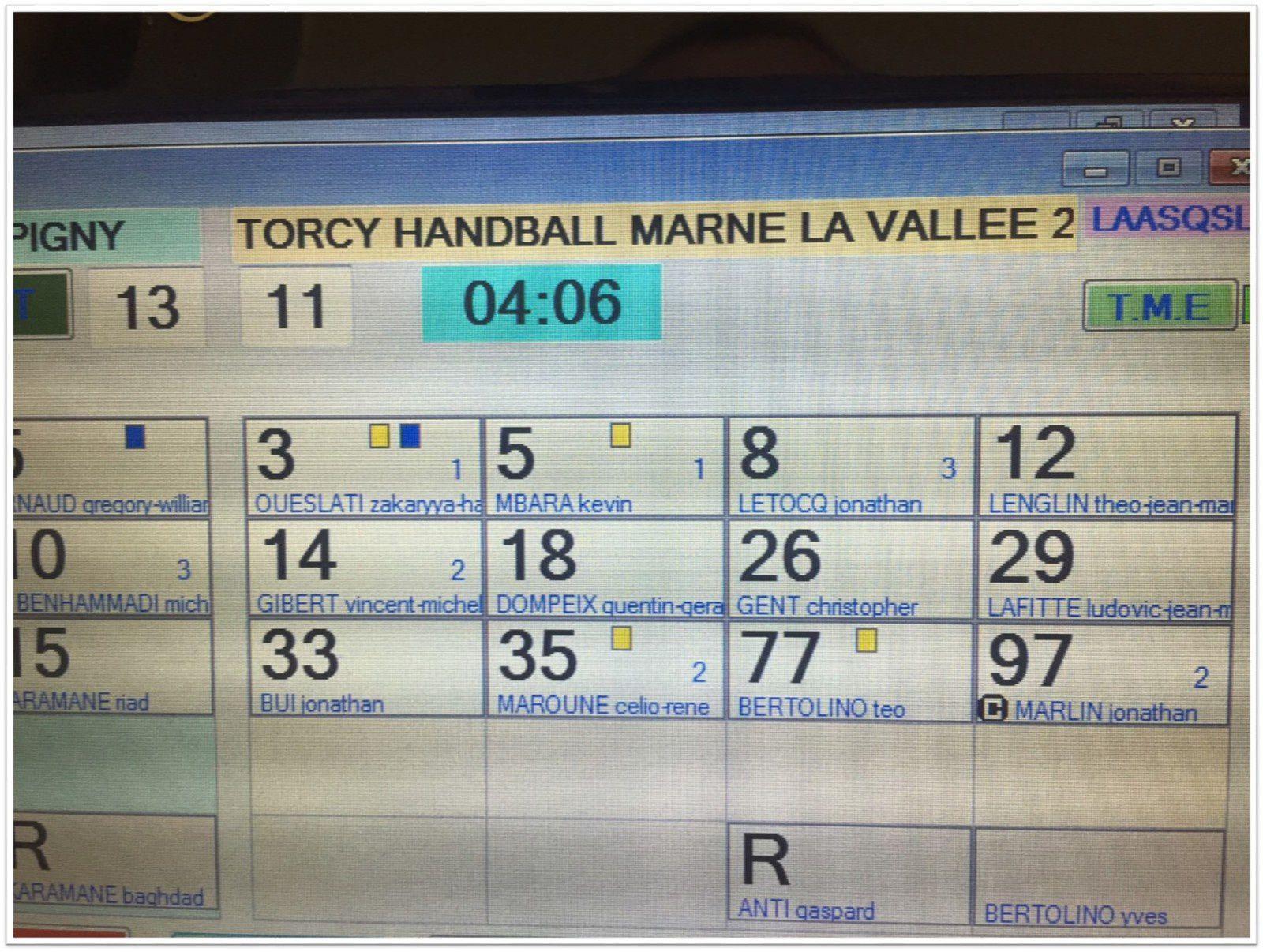 Champigny-sur-Marne vs THBMLV 2 (Pré-Nationale) 01.10.2016