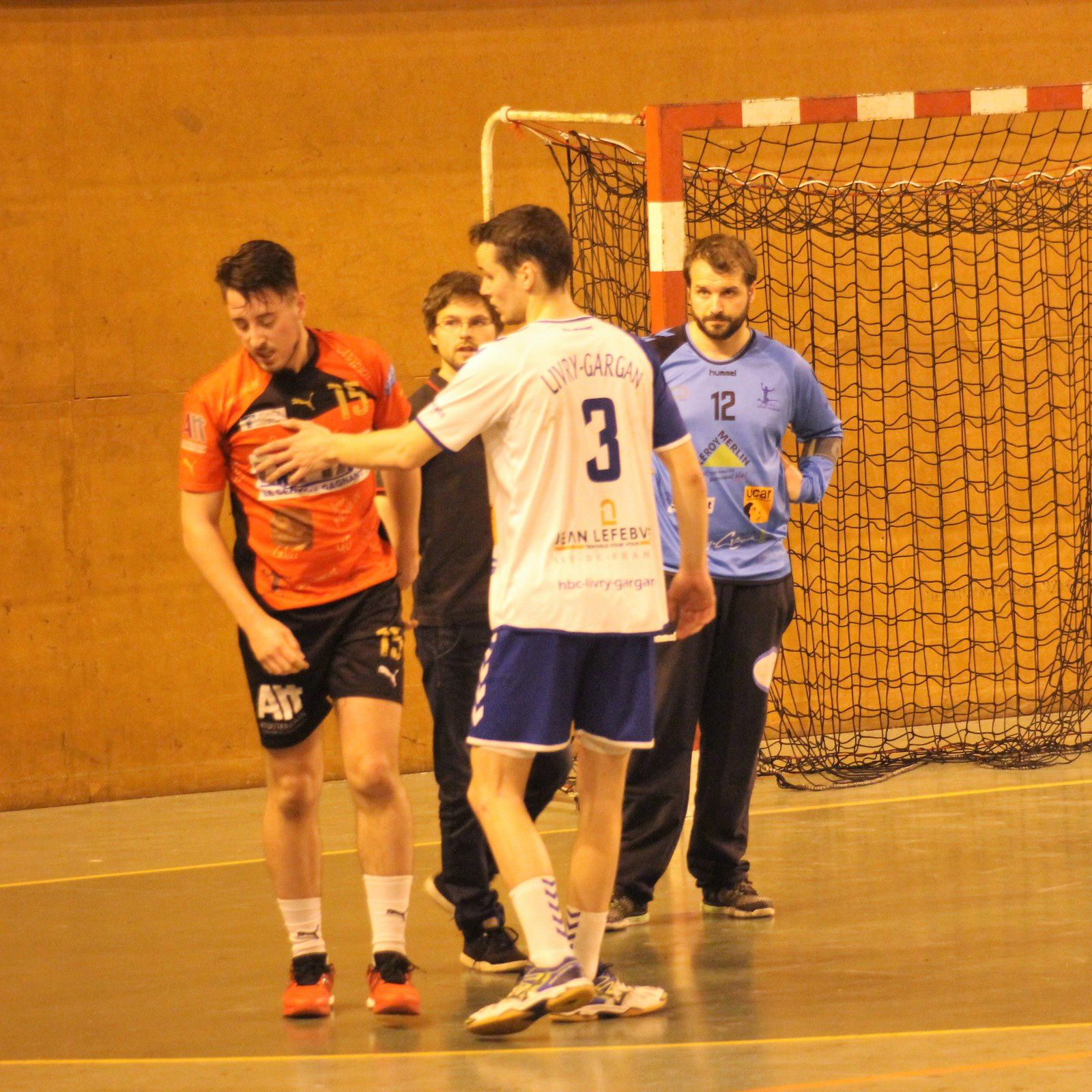 Livry-Gargan vs THBMLV 1 (1/2 Finale Coupe de la Ligue Nationaux) 05.05.17
