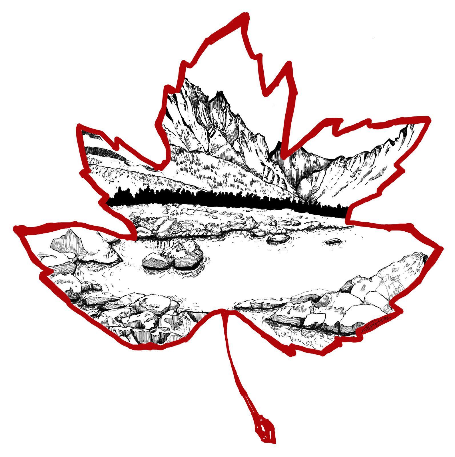 dessin canada