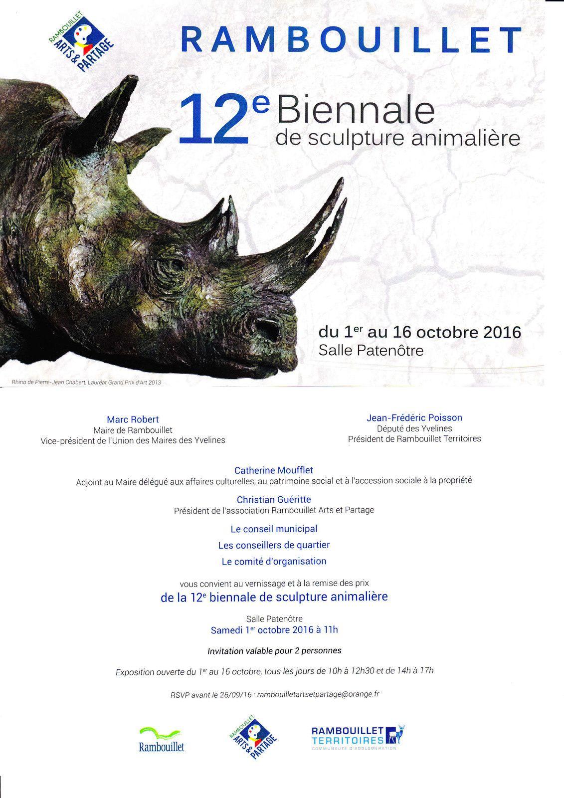 biennale de sculpture animalière de Rambouillet