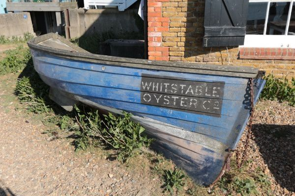Whitstable, petite station balnéaire...