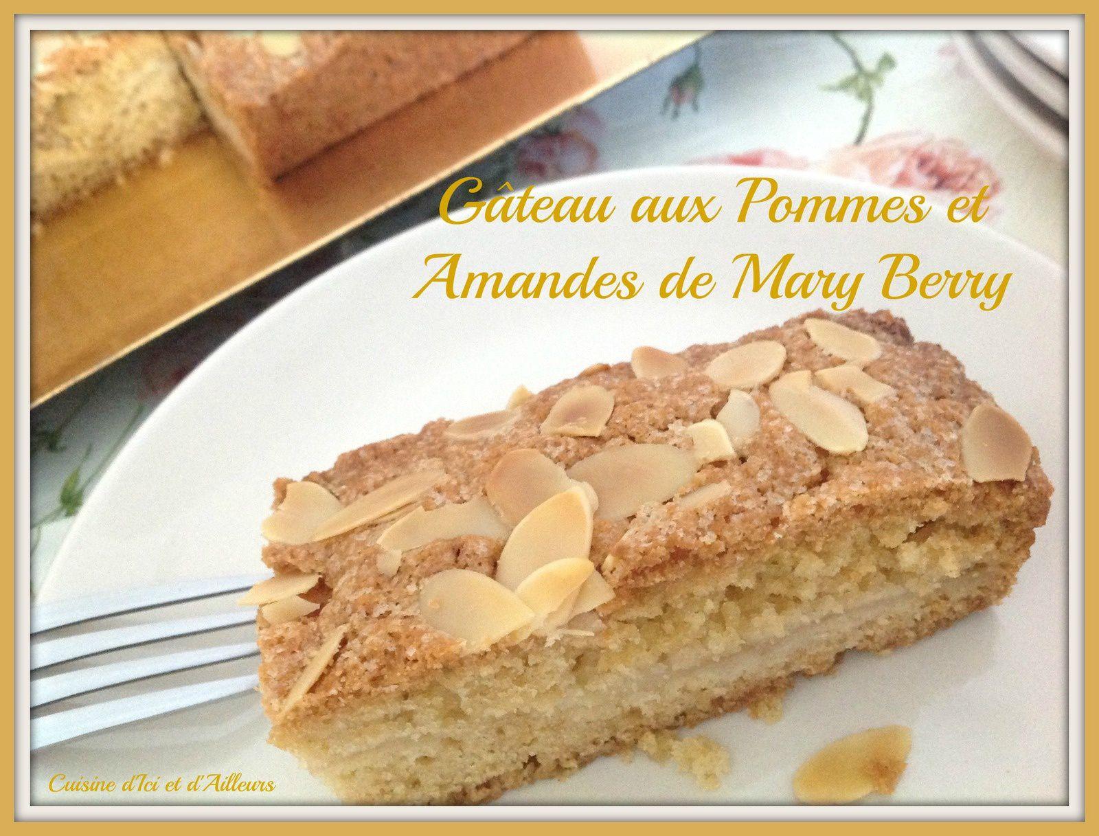 Gâteau aux Pommes et Amandes de Mary Berry