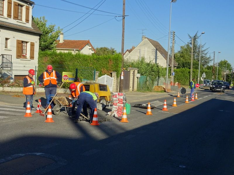 Attention travaux route de Mandres à Villecresnes !!!!