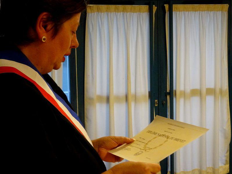 Remise de diplômes au collège Amédée Dunois !!