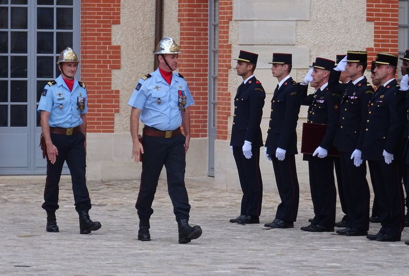 Les Pompiers à Grosbois !!!