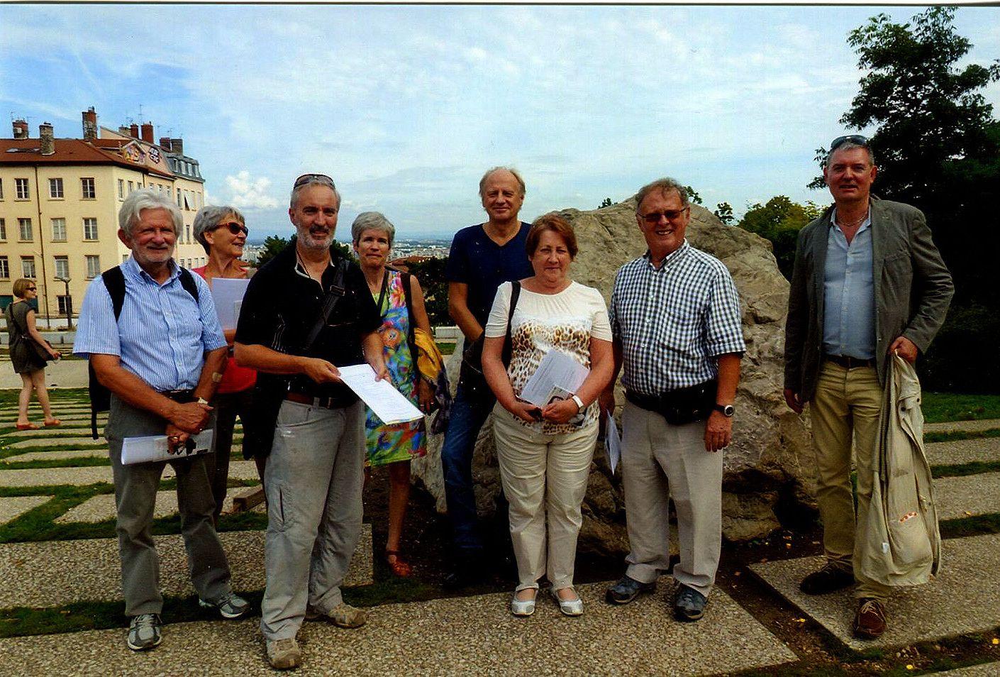 Les nouveaux compagnons du Gros-Caillou, Cliché Pascal Mettier, Lyon, 20 septembre 2014