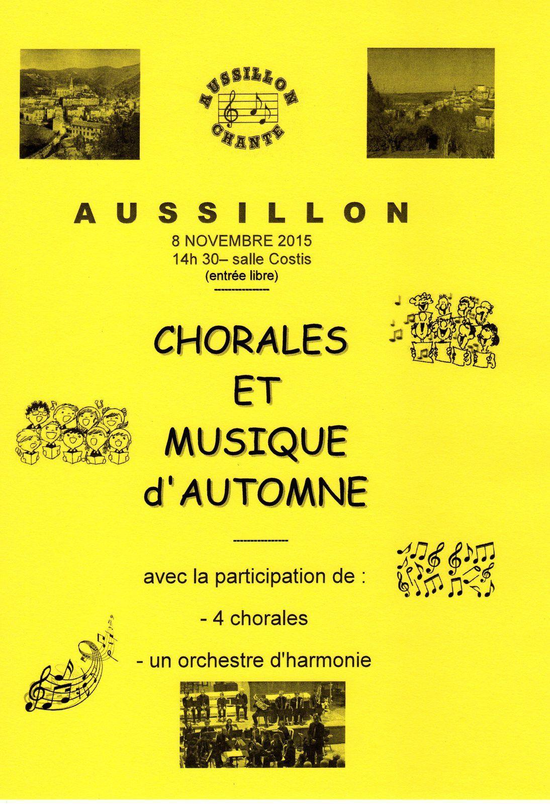CHOEURS ET MUSIQUE D'AUTOMNE (2)