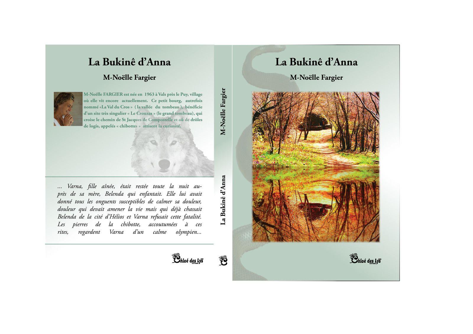 """Marie-Noëlle FARGIER présente son roman """"La Bukinê d'Anna"""""""
