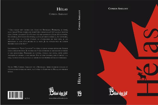 Cyprien Ameloot se présente et présente son livre &quot&#x3B;Hélas&quot&#x3B;