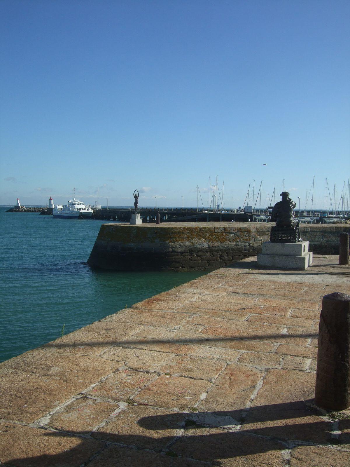 Le Port d'Haliguen - Photos prises en septembre 2013