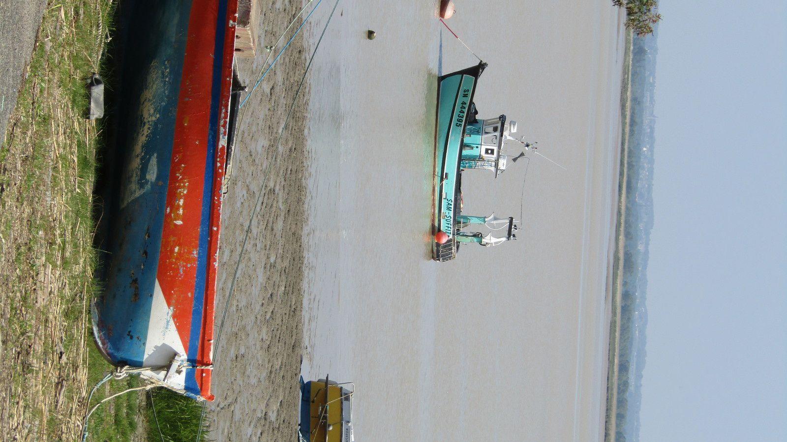Sur les quais de Paimboeuf (en février 2017)