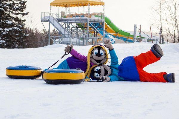 Les photos du parc, venant du site du parc <http://www.valcartier.com/fr/glissades-hiver/entreprise/medias/photos/>