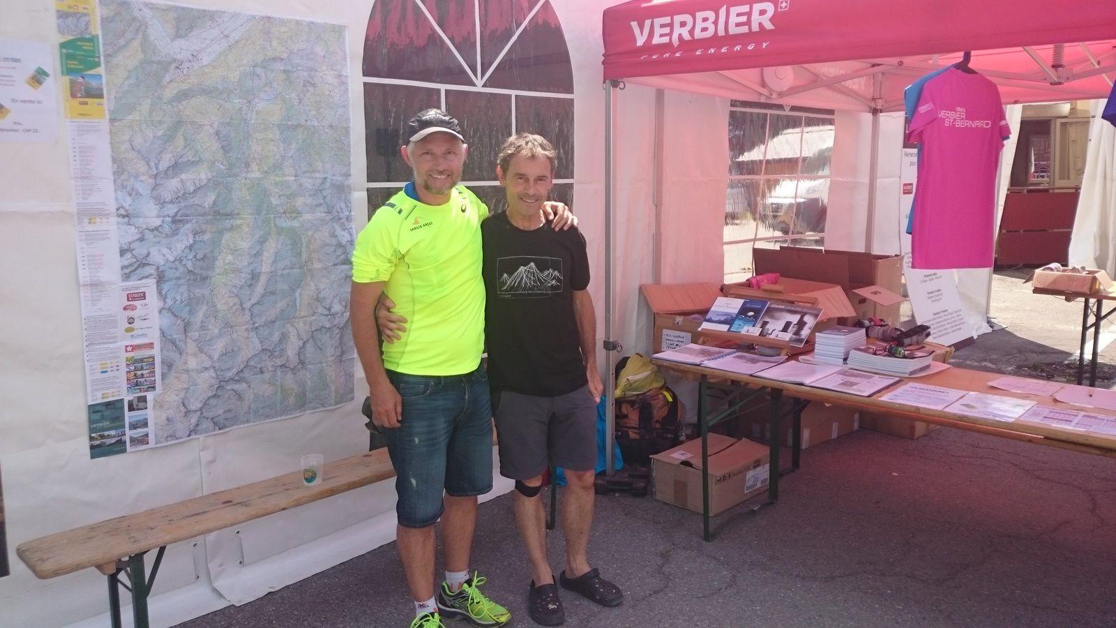 Trail Verbier Saint Bernard, que du bonheur &#x3B;-)