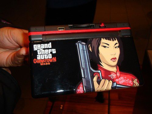 (arrivage) Nintendo DS Lite GTA Chinatown Wars