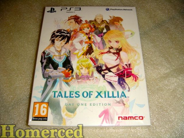 (arrivage) Tales of Xillia + jeux PS4