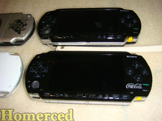 (Collection) Mes PSP et PSP GO