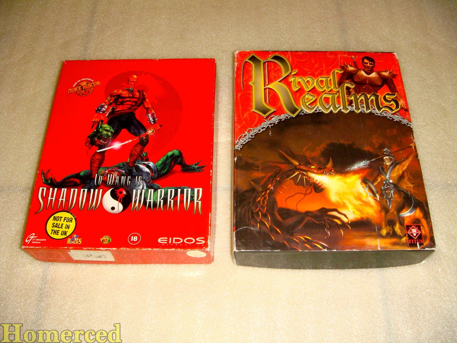 (PC Big Box) Shadow Warrior et Rival Realms