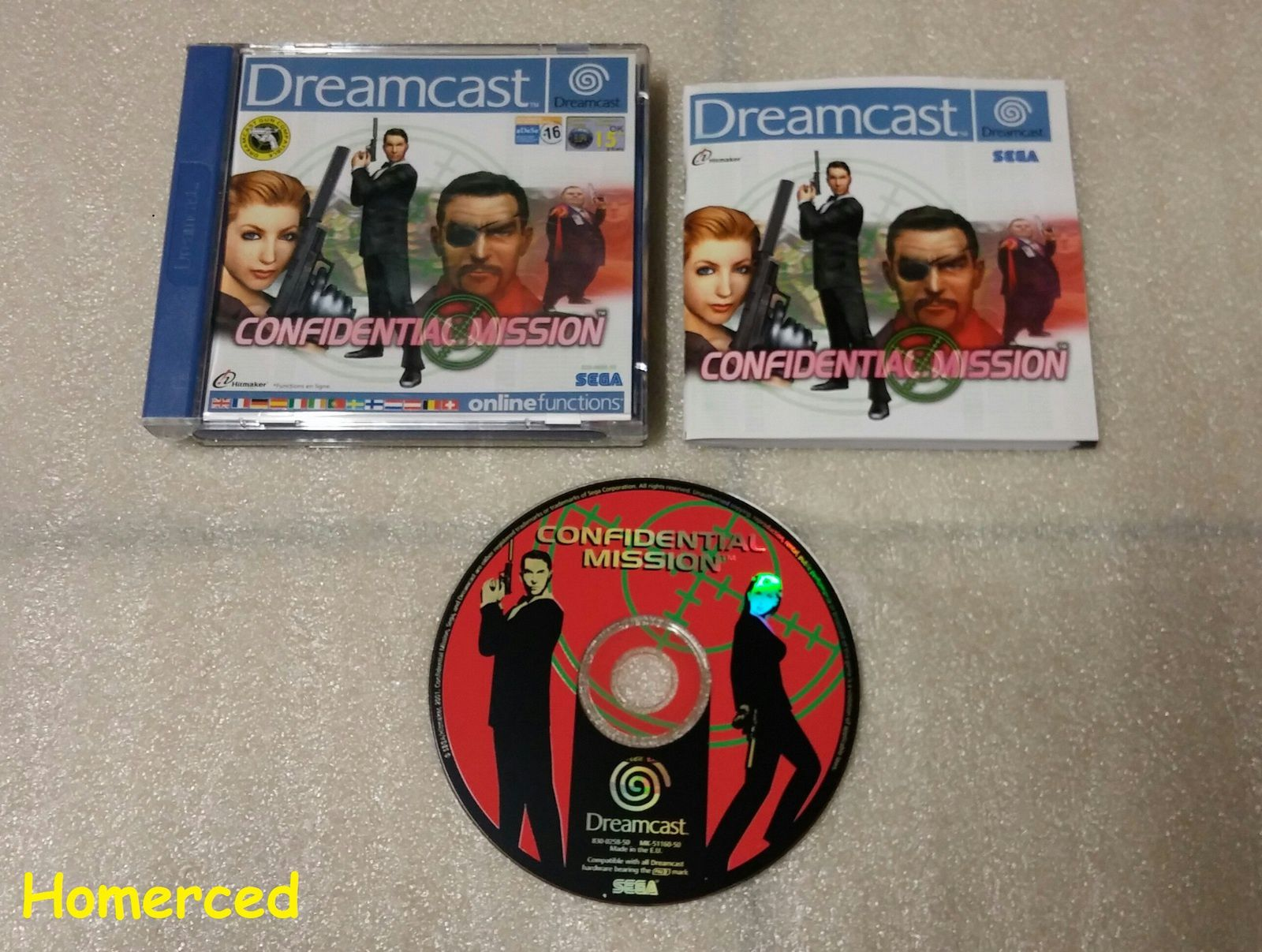 (Dreamcast) Carrier et Confidential Mission