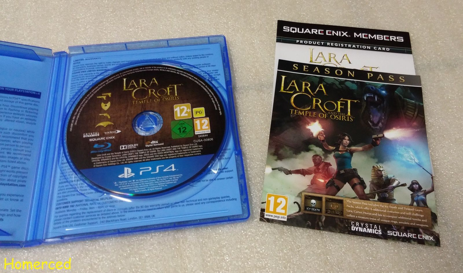(Unboxing) Lara Croft and the Temple of Osiris Gold Edition