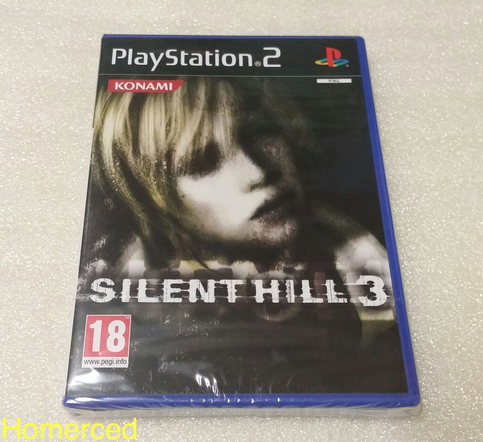 (Arrivage) Silent Hill 3 PS2 neuf sous blister
