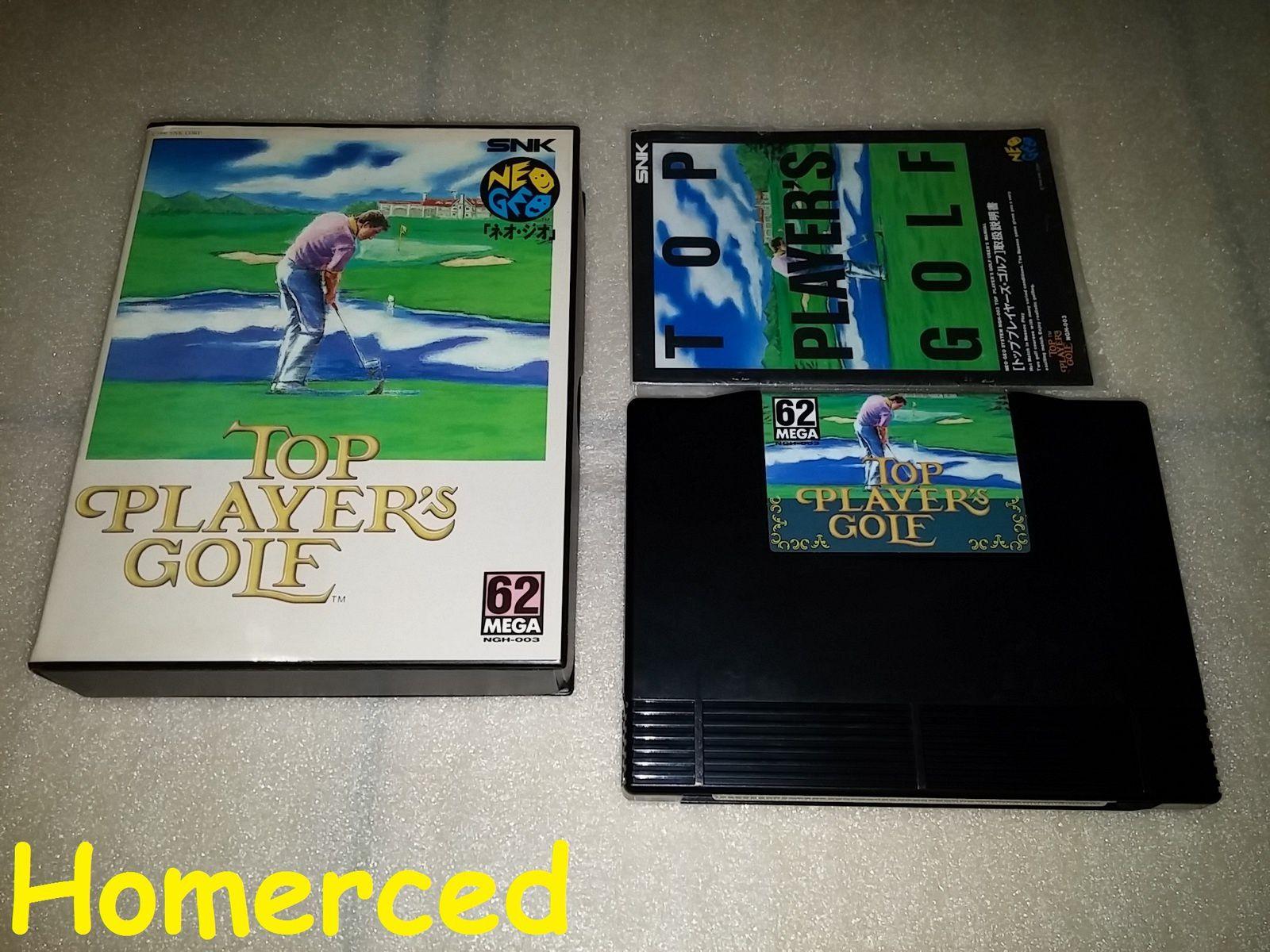 (Neo Geo)Riding Hero et Top Player's Golf