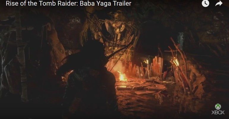 (XBOX ONE) Le DLC Baba Yaga de Rise of the Tomb Raider se montre en vidéo