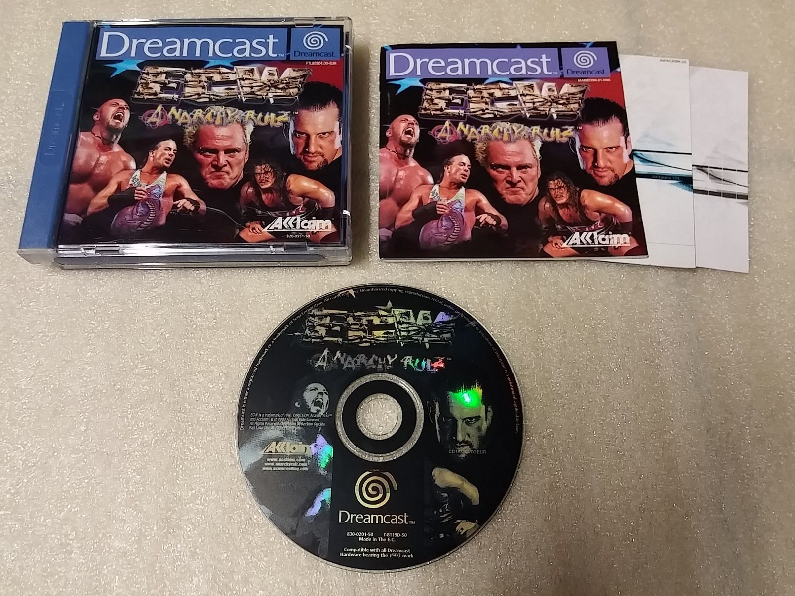 (Dreamcast) ECW Anarchy Rulz, Spawn in the Demon Hand