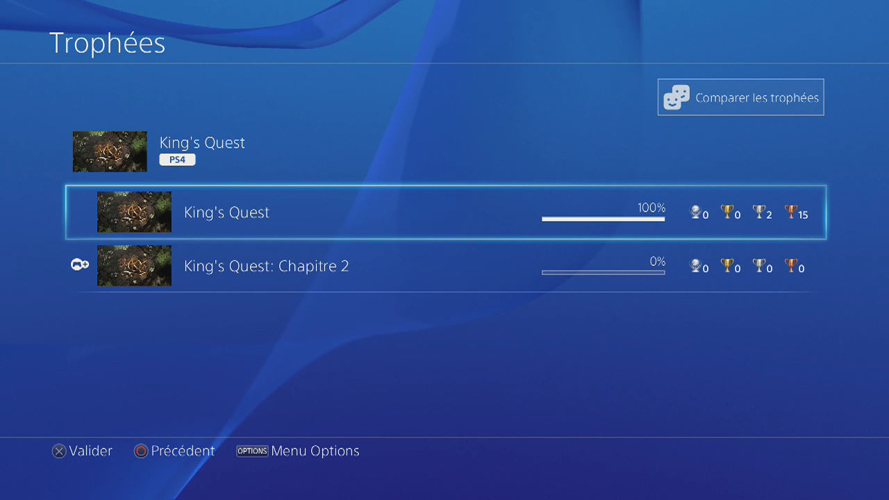 king quest ps4