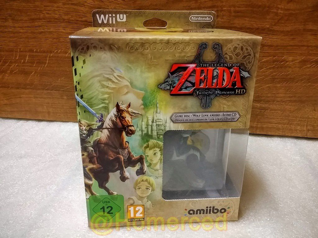 (Unboxing) The Legend of Zelda: Twilight Princess HD sur Wii U