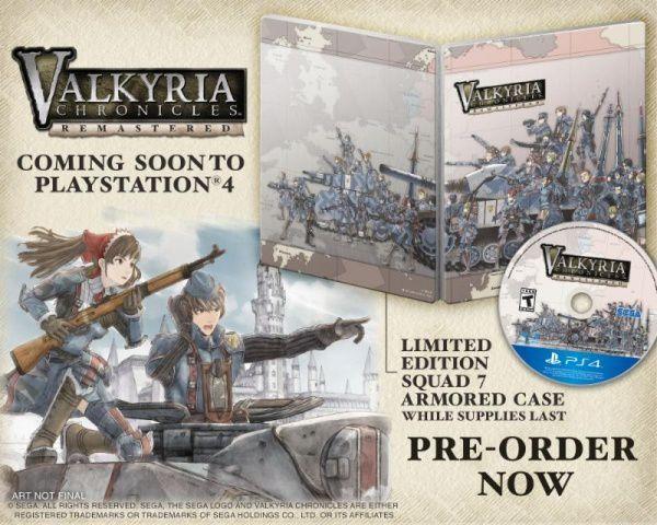 (Pré-commande) Valkyria Chronicles Remastered – Edition Europa sur PS4
