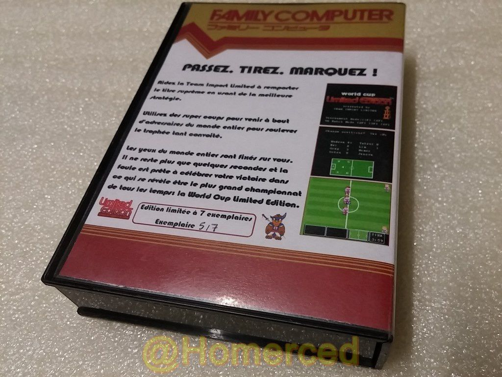(Famicom) World Cup Limited Edition