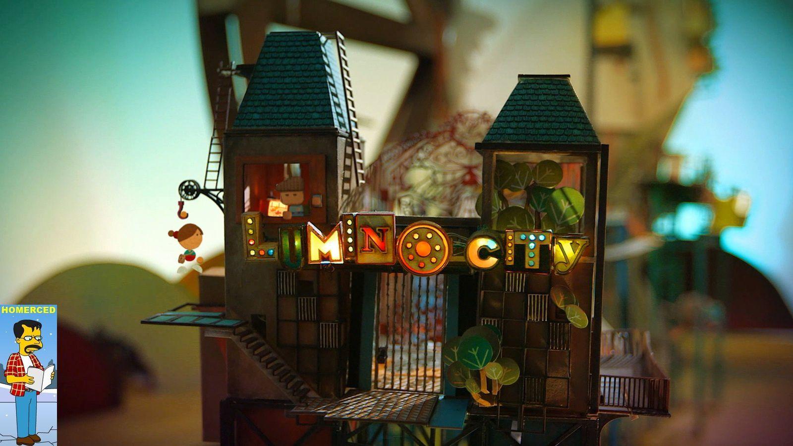 (Let's Play) Lumino City - un Point &amp&#x3B; Click dans un univers de papier et carton