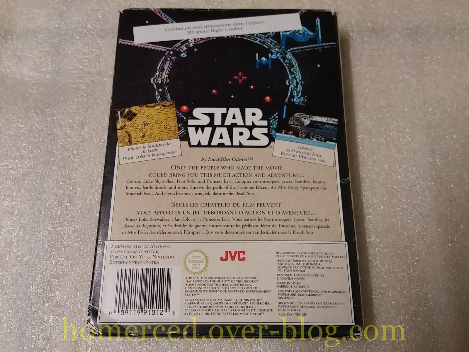 (Nintendo NES) Excitebike (version ASD) et Star Wars