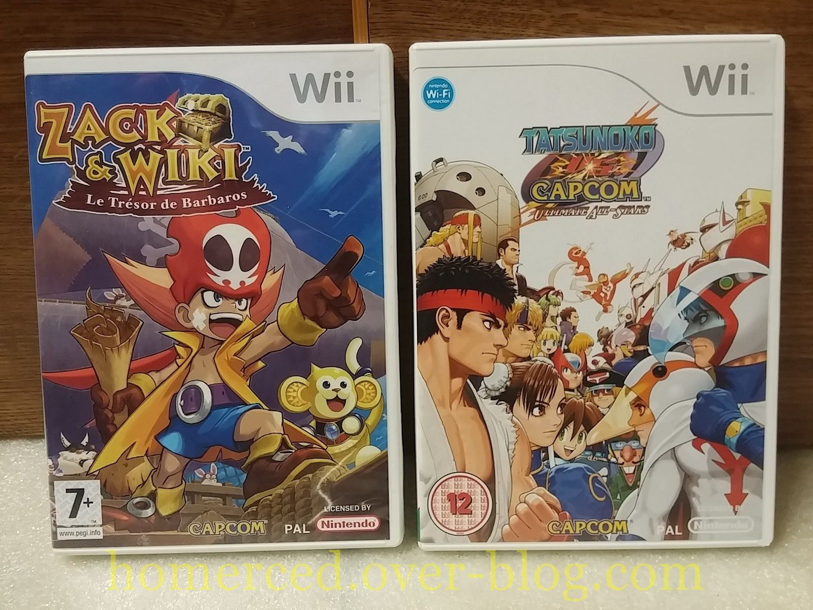 (Arrivage) 5 jeux Wii - Punch Out ! - New Super Mario Bros - Zack &amp&#x3B; Wiki...