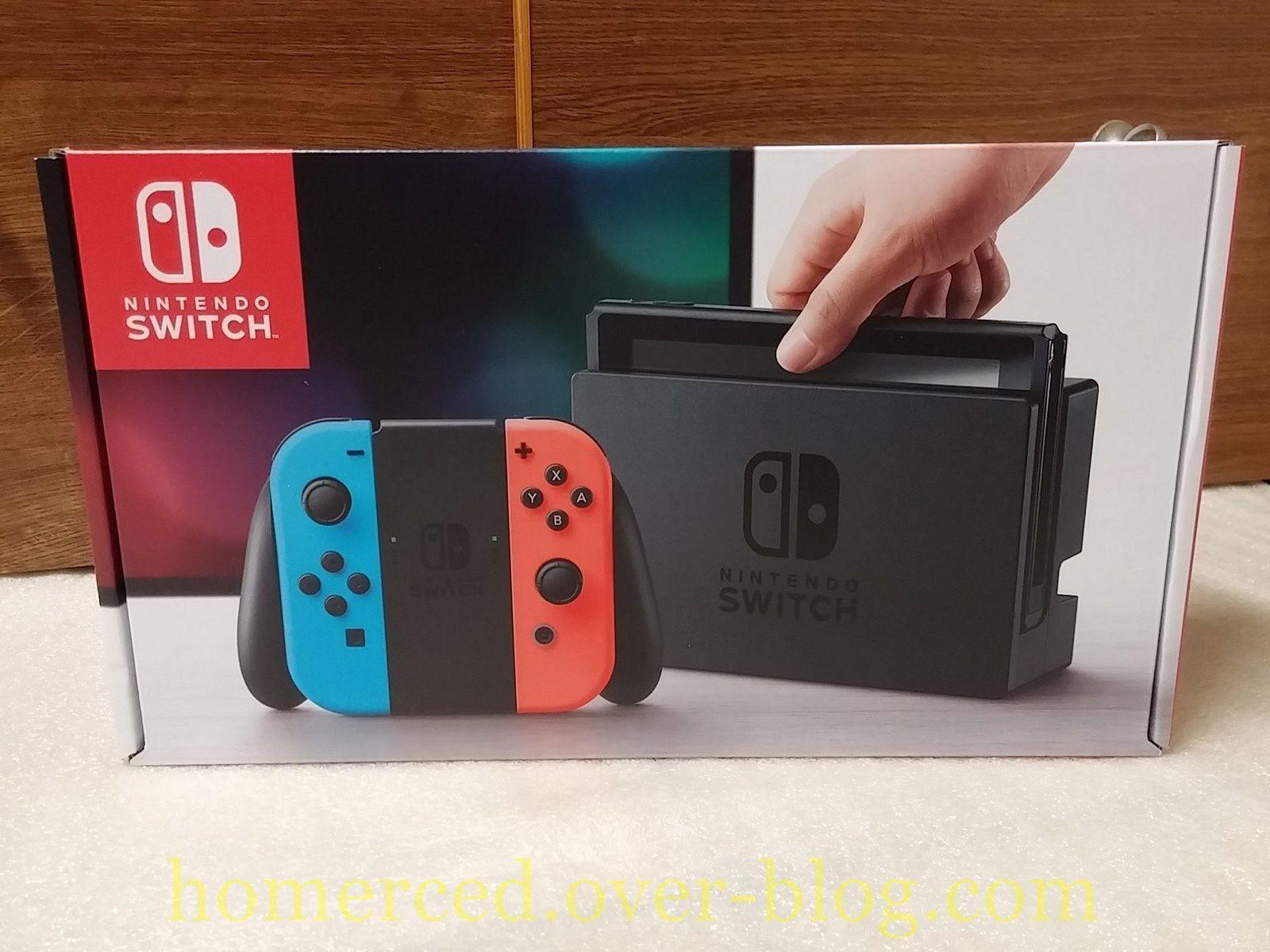(Switch) J'ai reçu ma Switch + mes premières impressions