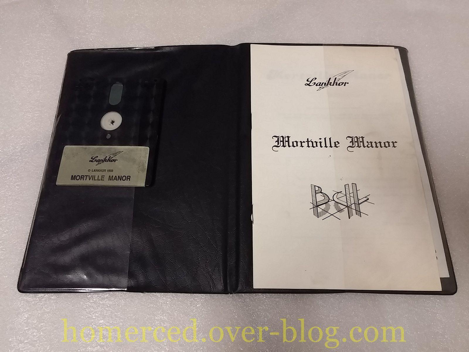 (Amstrad) Amstrad CPC 6128 : Le manoir de Mortevielle