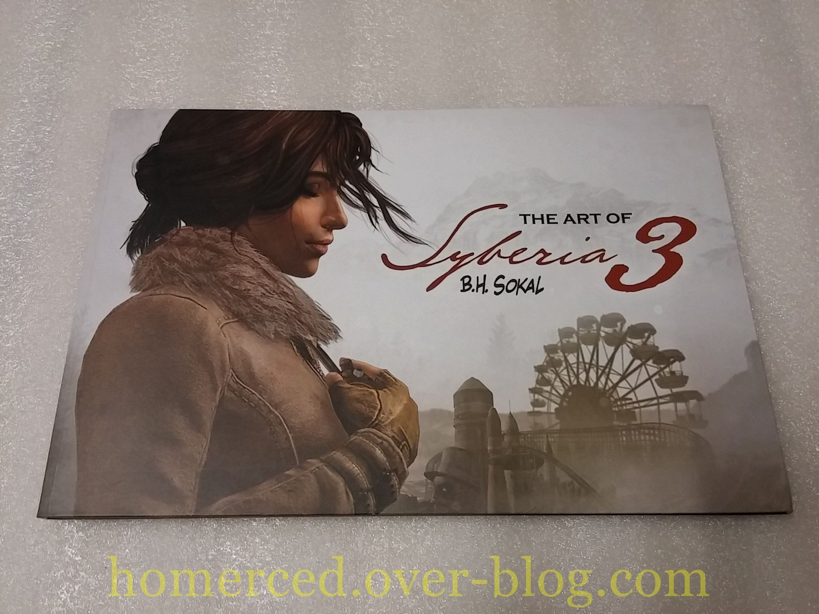 (unboxing) La version collector de Syberia 3 sur PC